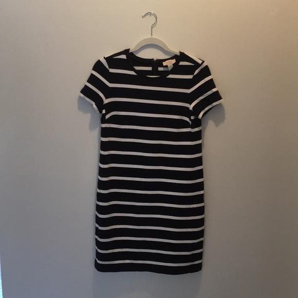 LOFT Dresses & Skirts - Loft striped T-shirt dress